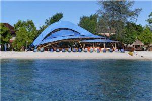Resort from Sea