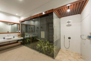 Garden bathroom