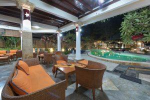 Lobby Pool view