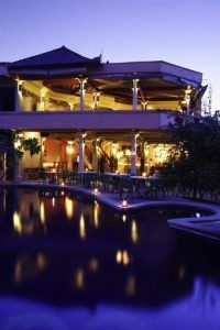 Villa Almarik by night
