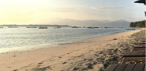 Gili Island Beach View