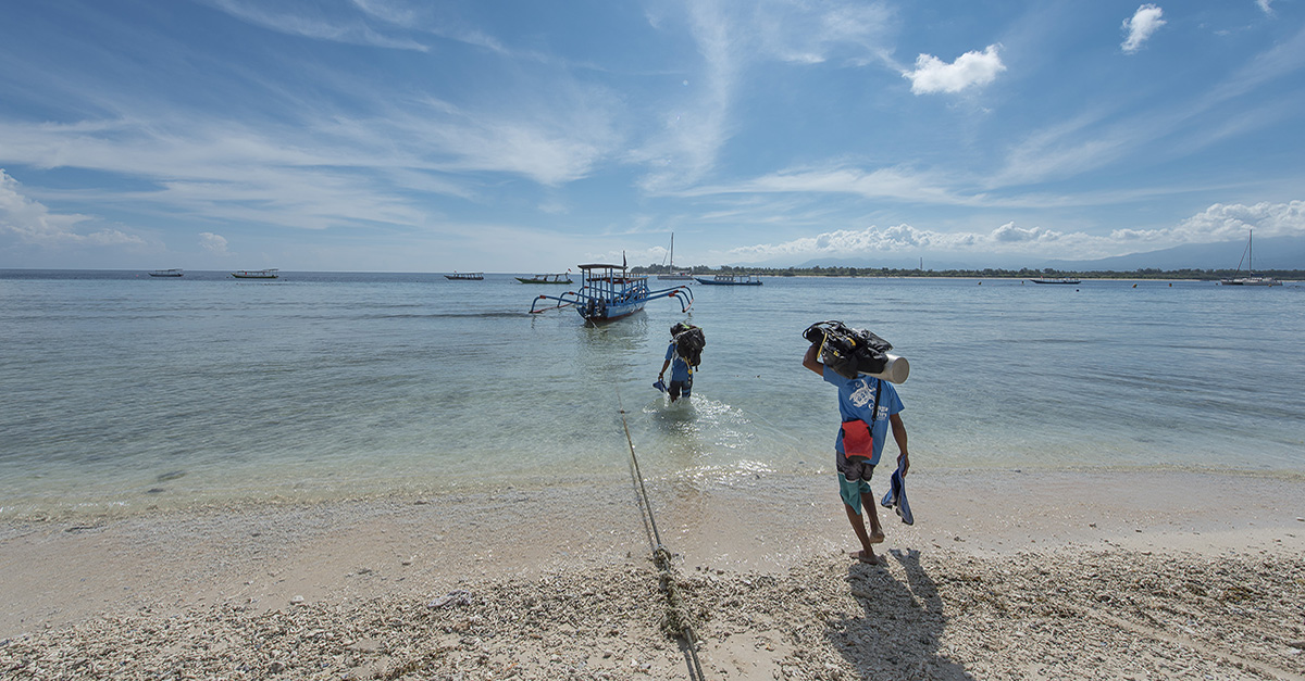 Diving in Gili Islands with Gangga Divers