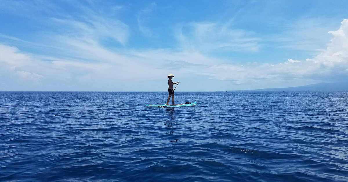 Stand up paddle Gili Trawangan