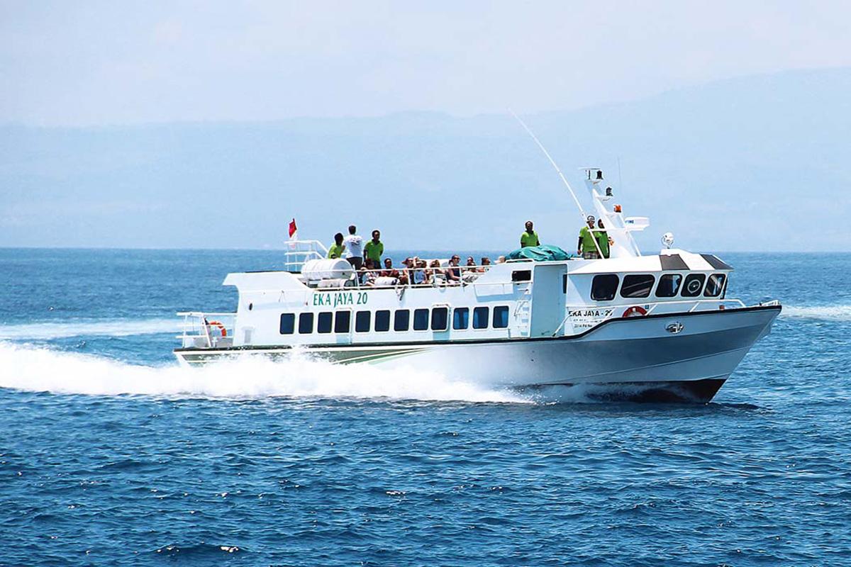 Eka Jaya Fast Boat Bali to Gili Trawangan