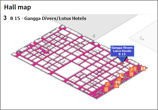 Lotus Hotels and Gangga Divers at boot Düsseldorf 2018