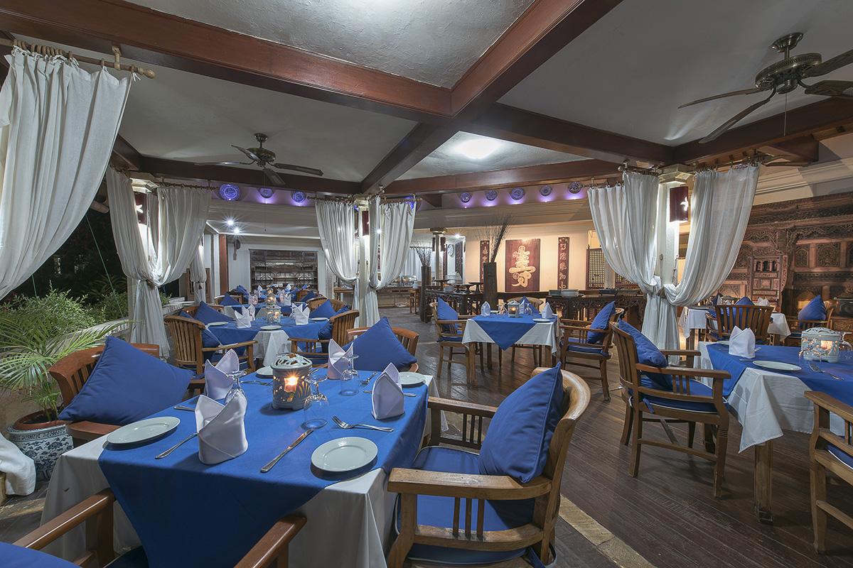 Restaurant at Villa Almarik in Gili Trawangan