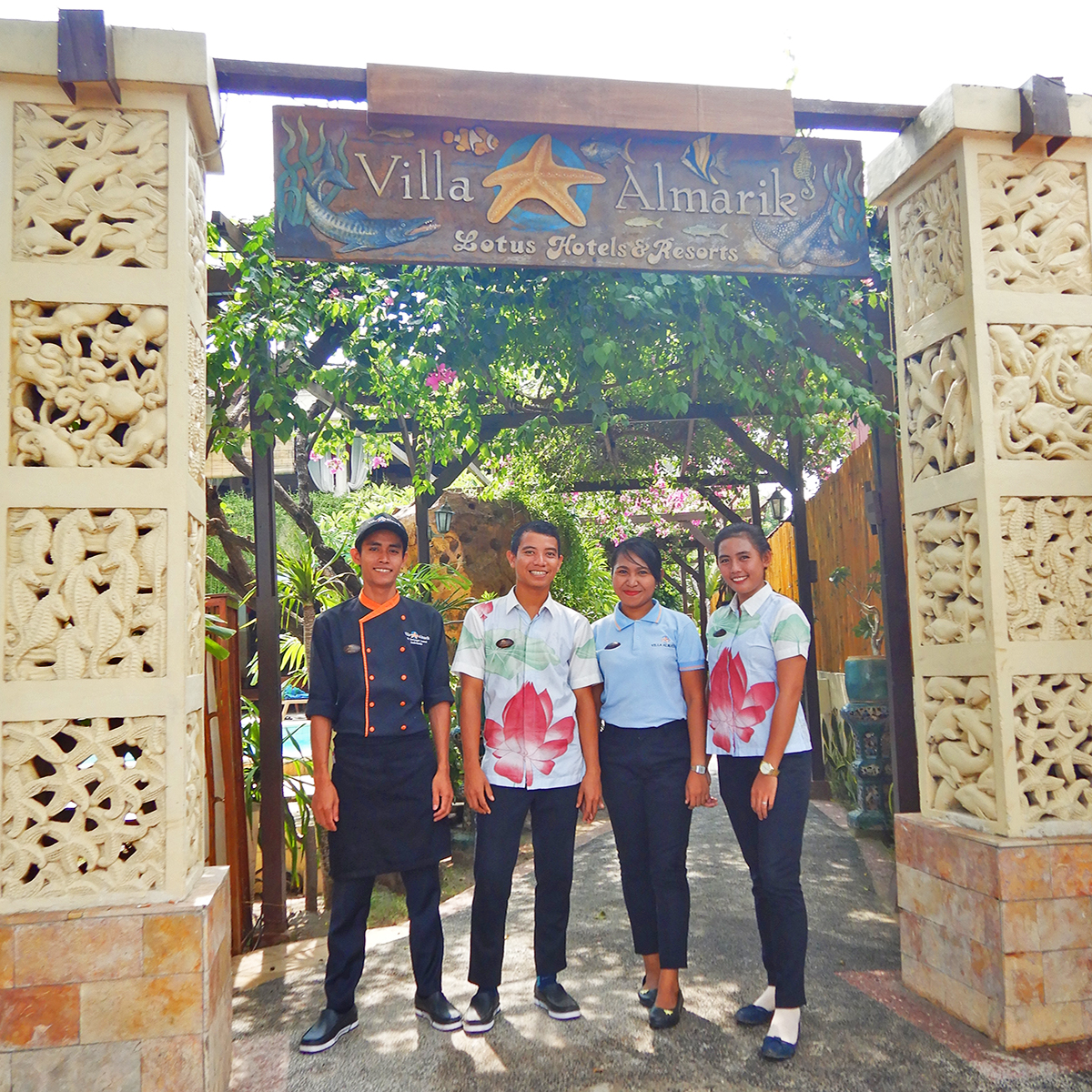 Gili Trawangan and Villa Almarik through the eyes of Arini our Front Office Manager