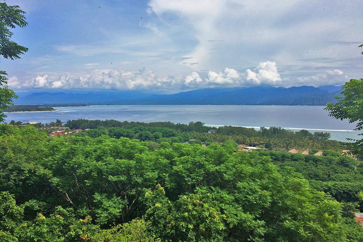 Climb Gili Trawangan Hill for the Best Views in Gili T