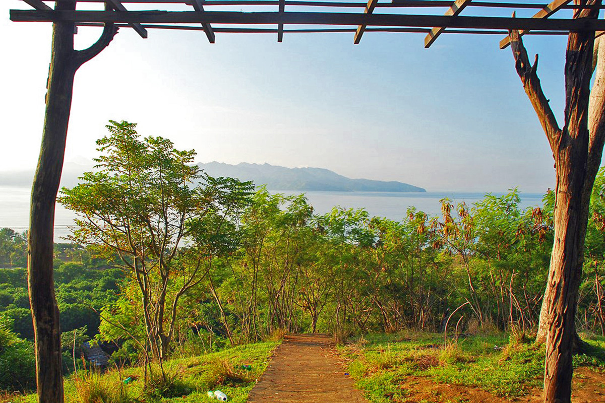 Climb Gili Trawangan Hill for the Best Views in Gili T