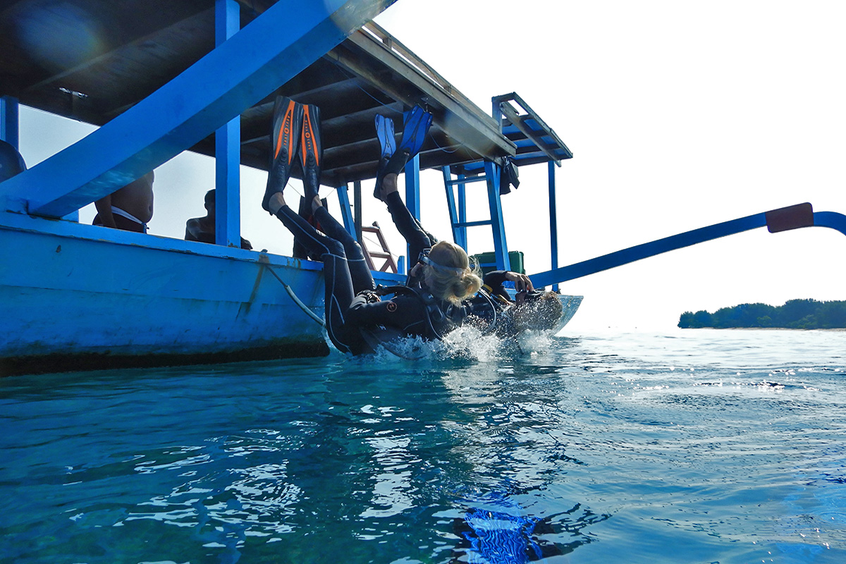 Gili Trawangan for divers
