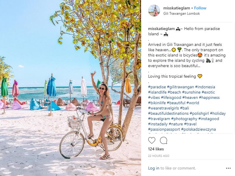 Bicycle Gili T - 10 Best Instagram Photos to Take on Gili Trawangan