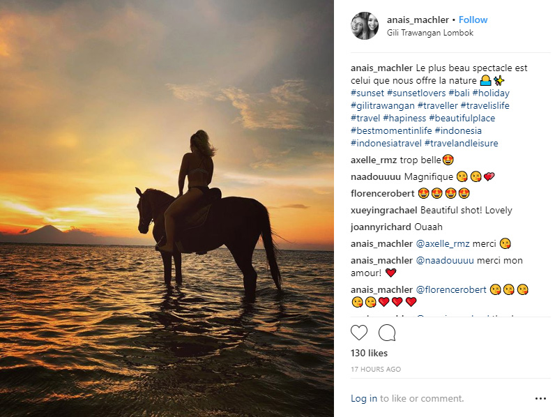 Horse Riding Gili T - 10 Best Instagram Photos to Take on Gili Trawangan