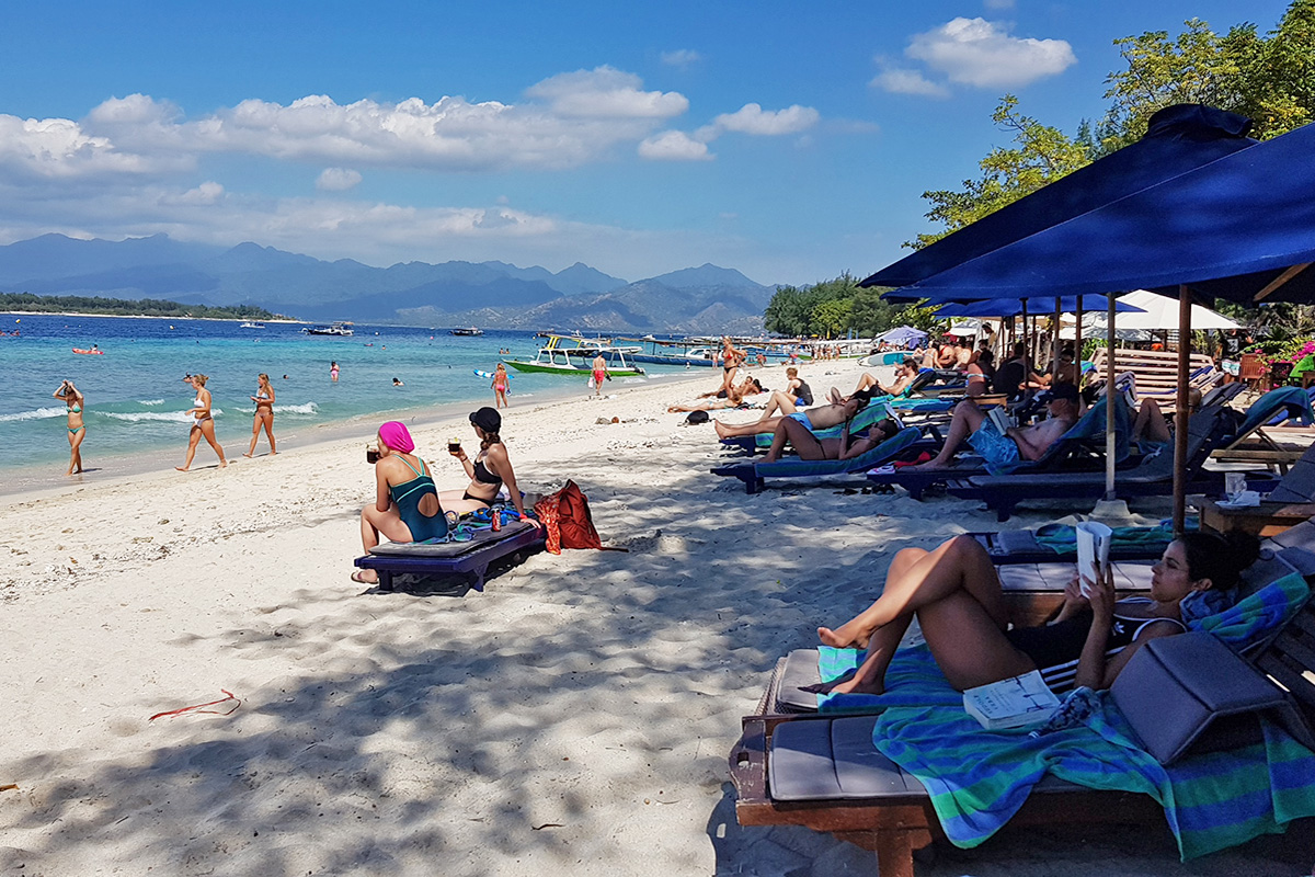 Staying Sun Safe on Tropical Gili Trawangan