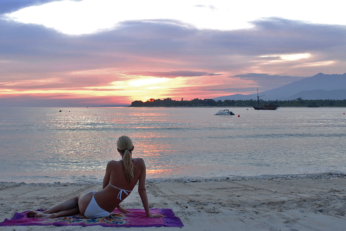 Top Sunset Spots on Gili Trawangan