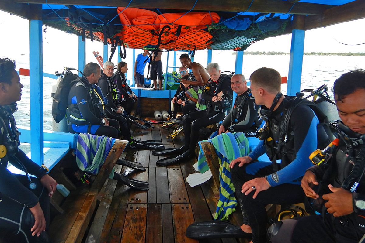 How Avoid Seasickness Ruining Your Dive Trips